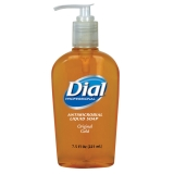 DIAL PUMP 7.5 oz SOAP, ANTIMICROBIAL