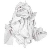 ROYAL 25# WHITE KNIT RAGS (BRICK)