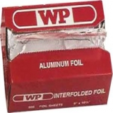 9 X 10 POTATO FOIL,WRAP,SHT,500SH